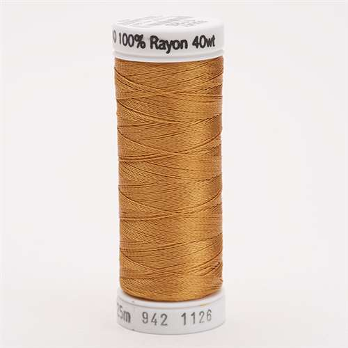 Sulky 40 wt 250 Yard Rayon Thread - 942-1126 - Tan