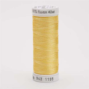 Sulky 40 wt 250 Yard Rayon Thread - 942-1135 - Pastel Yellow