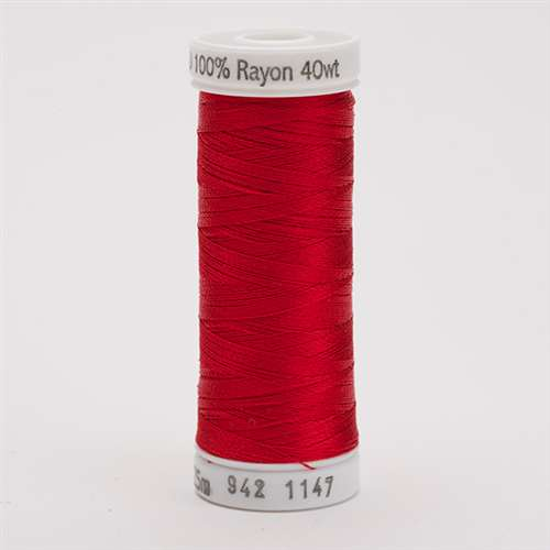 Sulky 40 wt 250 Yard Rayon Thread - 942-1147 - Xmas Red