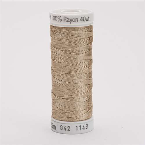 Sulky 40 wt 250 Yard Rayon Thread - 942-1149 - Deep Ecru