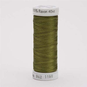 Sulky 40 wt 250 Yard Rayon Thread - 942-1156 - Lt Army Green