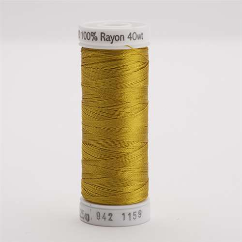 Sulky 40 wt 250 Yard Rayon Thread - 942-1159 - Temple Gold