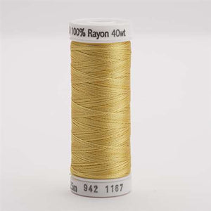Sulky 40 wt 250 Yard Rayon Thread - 942-1167 - Maize Yellow