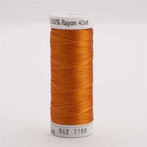 Sulky 40 wt 250 Yard Rayon Thread - 942-1168 - True Orange