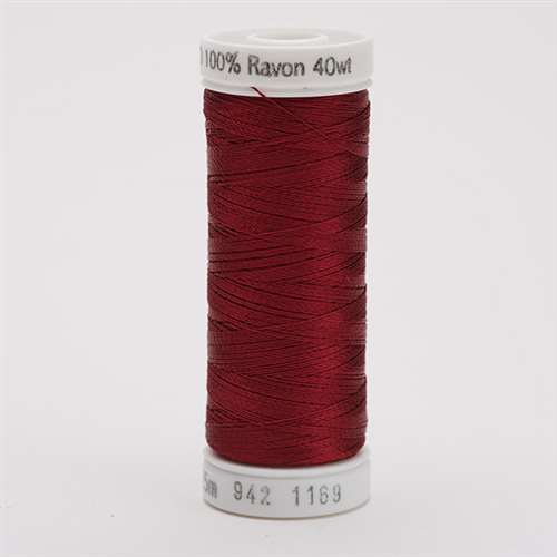 Sulky 40 wt 250 Yard Rayon Thread - 942-1169 - Bayberry Red