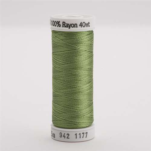 Sulky 40 wt 250 Yard Rayon Thread - 942-1177 - 40wt Avocado