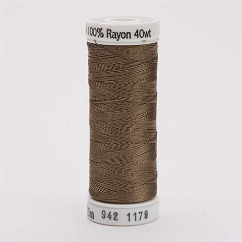 Sulky 40 wt 250 Yard Rayon Thread - 942-1179 - Dark Taupe