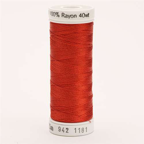 Sulky 40 wt 250 Yard Rayon Thread - 942-1181 - Rust