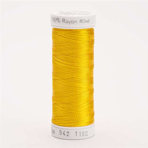Sulky 40 wt 250 Yard Rayon Thread - 942-1185 - Golden Yellow