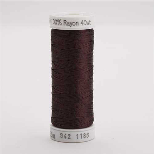 Sulky 40 wt 250 Yard Rayon Thread - 942-1186 - Sable Brown