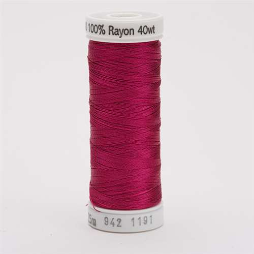 Sulky 40 wt 250 Yard Rayon Thread - 942-1191 - Dark Rose