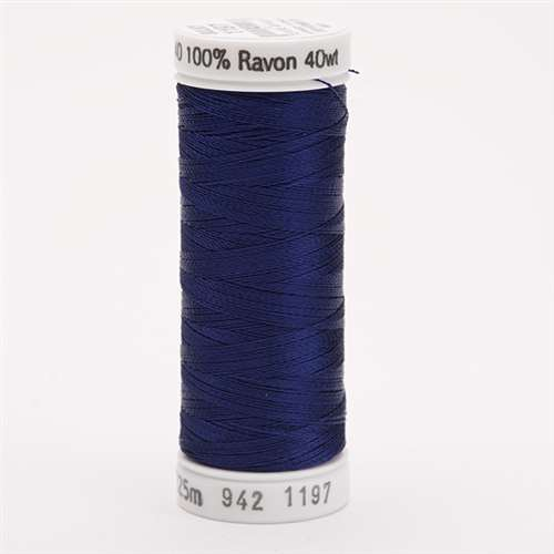 Sulky 40 wt 250 Yard Rayon Thread - 942-1197 - Med Navy
