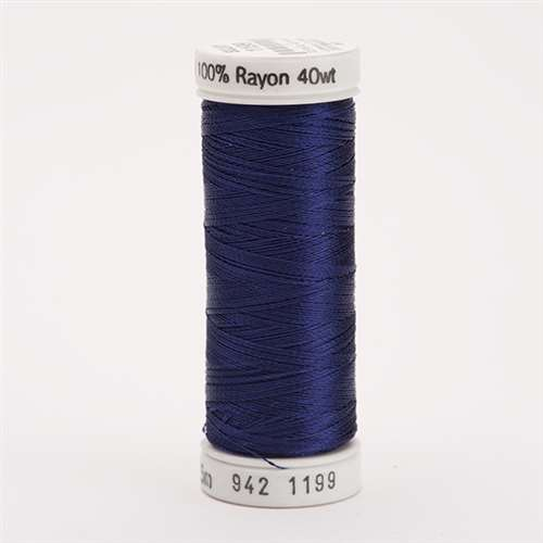 Sulky 40 wt 250 Yard Rayon Thread - 942-1199 - Admiral Navy Blue