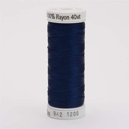 Sulky 40 wt 250 Yard Rayon Thread - 942-1200 - Med Dark Navy