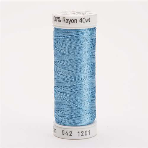 Sulky 40 wt 250 Yard Rayon Thread - 942-1201 - Med Powder Blue