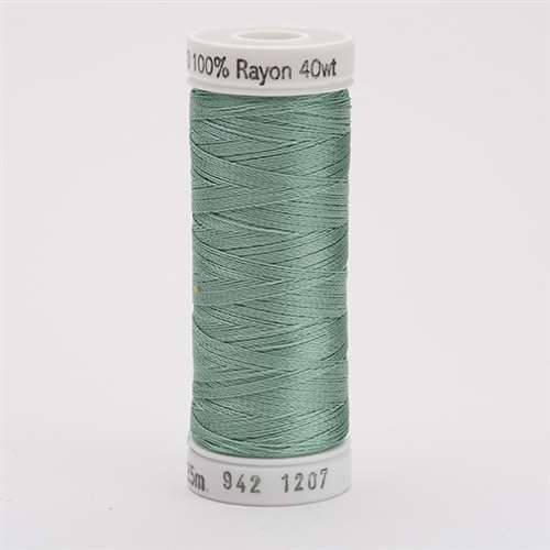 Sulky 40 wt 250 Yard Rayon Thread - 942-1207 - Sea Foam Green