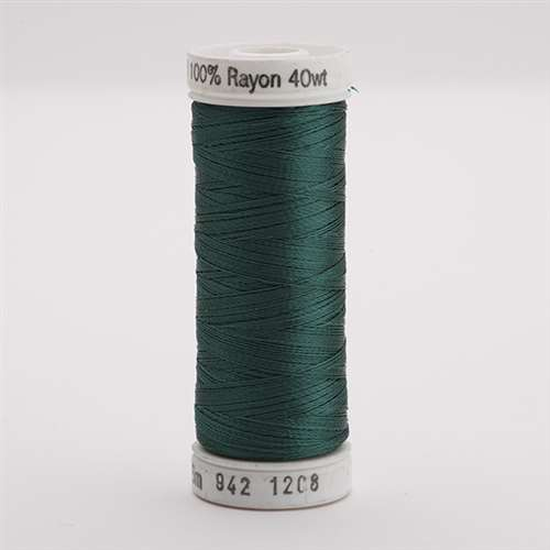 Sulky 40 wt 250 Yard Rayon Thread - 942-1208 - Mallard Green