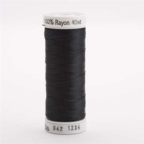 Sulky 40 wt 250 Yard Rayon Thread - 942-1234 - Almost Black