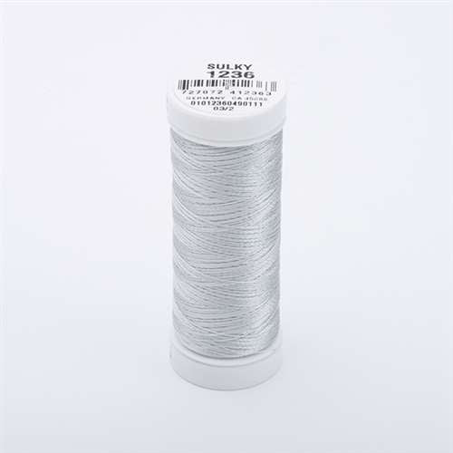 Sulky 40 wt 250 Yard Rayon Thread - 942-1236 - Light Silver