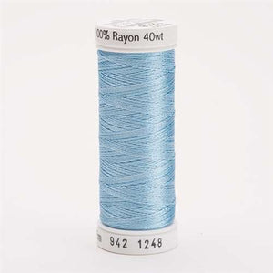 Sulky 40 wt 250 Yard Rayon Thread - 942-1248 - d Pastel Blue
