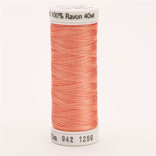 Sulky 40 wt 250 Yard Rayon Thread - 942-1259 - Salmon Peach