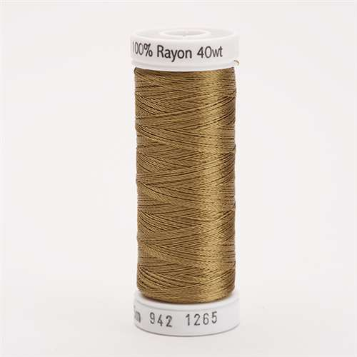 Sulky 40 wt 250 Yard Rayon Thread - 942-1265 - Burnt Toast