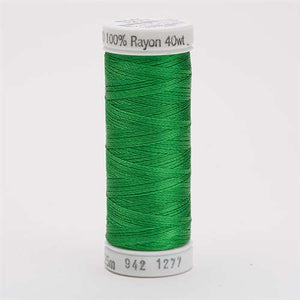 Sulky 40 wt 250 Yard Rayon Thread - 942-1277 - Ivy Green