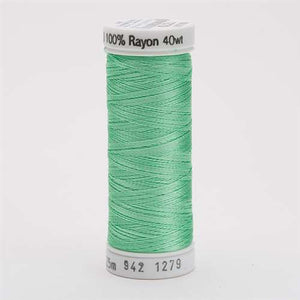 Sulky 40 wt 250 Yard Rayon Thread - 942-1279 - Willow Green