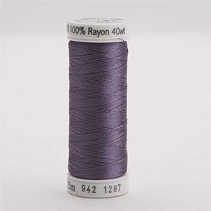 Sulky 40 wt 250 Yard Rayon Thread - 942-1297 - Light Plum