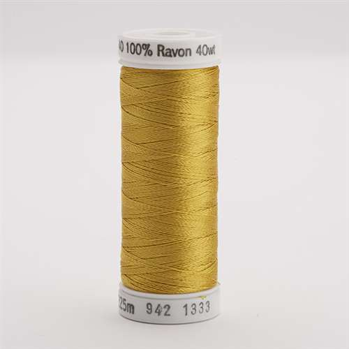 Sulky 40 wt 250 Yard Rayon Thread - 942-1333 - Sunflower Gold