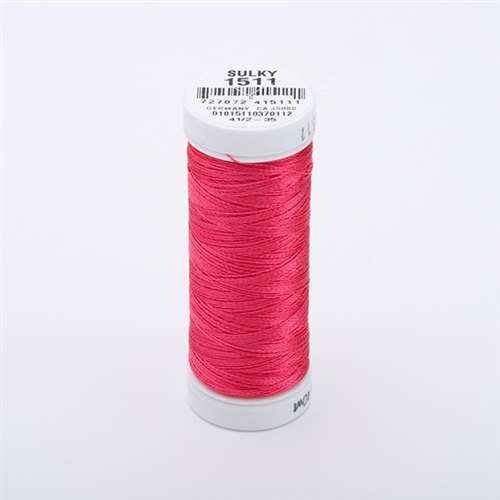 Sulky 40 wt 250 Yard Rayon Thread - 942-1511 - Deep Rose