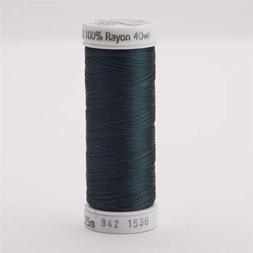 Sulky 40 wt 250 Yard Rayon Thread - 942-1536 - Midnight Teal