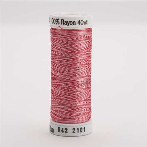 Sulky 40 wt 250 Yard Rayon Thread - 942-2101 - Pinks Var.