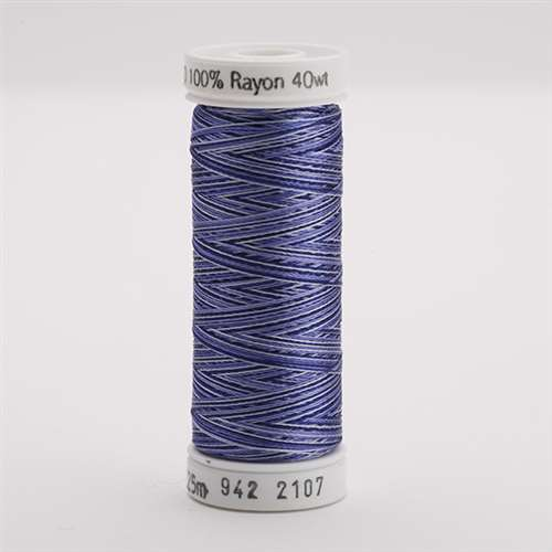 Sulky 40 wt 250 Yard Rayon Thread - 942-2107 - Navy Blue Var