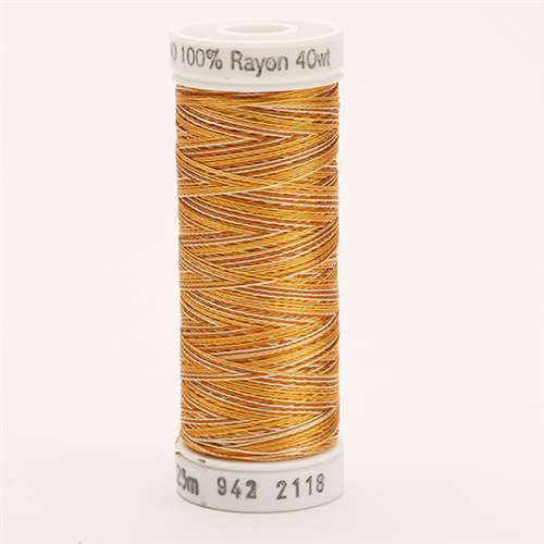 Sulky 40 wt 250 Yard Rayon Thread - 942-2118 - Md Brown Var