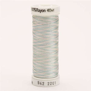 Sulky 40 wt 250 Yard Rayon Thread - 942-2201 - Baby Bl/Pink/Mint