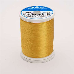 Sulky 40 wt 850 Yard Rayon Thread - 943-0567 - Butterfly Gold