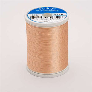 Sulky 40 wt 850 Yard Rayon Thread - 943-0619 - Dusty Peach