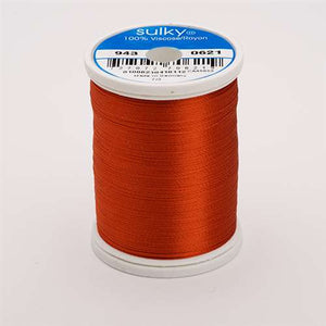 Sulky 40 wt 850 Yard Rayon Thread - 943-0621 - Sunset