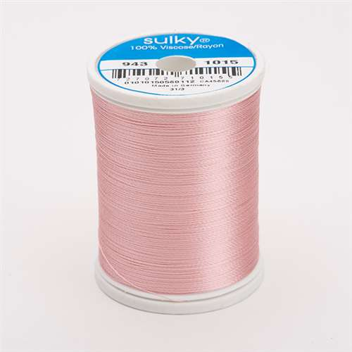 Sulky 40 wt 850 Yard Rayon Thread - 943-1015 - Med Peach