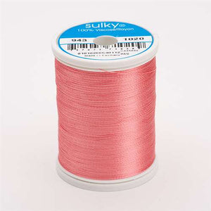 Sulky 40 wt 850 Yard Rayon Thread - 943-1020 - Dark Peach