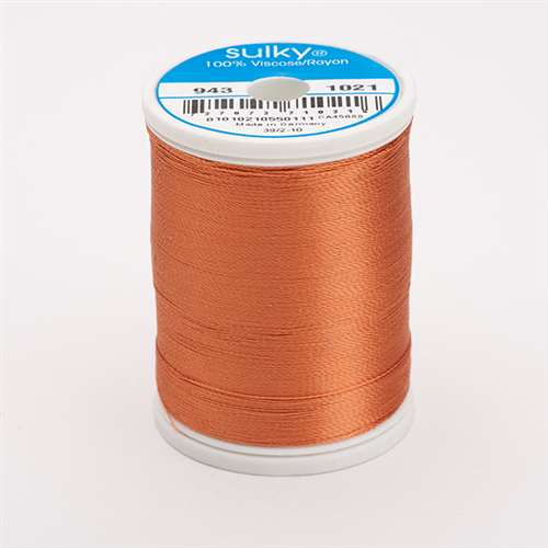 Sulky 40 wt 850 Yard Rayon Thread - 943-1021 - Maple