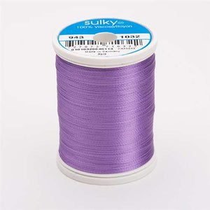 Sulky 40 wt 850 Yard Rayon Thread - 943-1032 - Medium Purple