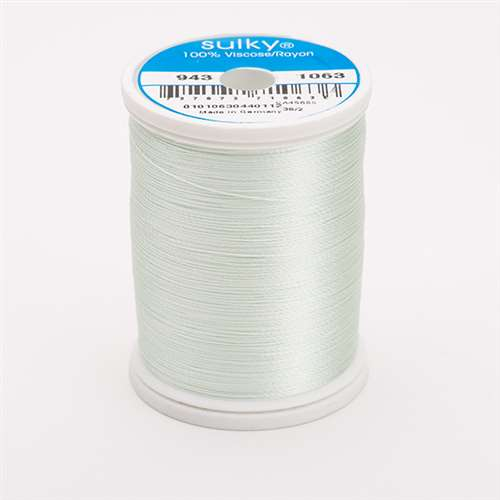Sulky 40 wt 850 Yard Rayon Thread - 943-1063 - Pale Yellow-Green