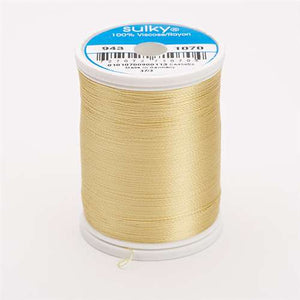 Sulky 40 wt 850 Yard Rayon Thread - 943-1070 - Gold