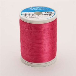 Sulky 40 wt 850 Yard Rayon Thread - 943-1109 - Hot Pink