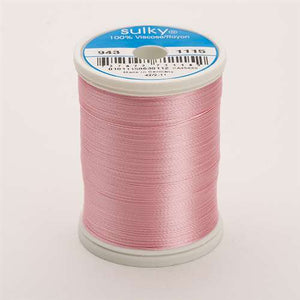 Sulky 40 wt 850 Yard Rayon Thread - 943-1115 - Light pink