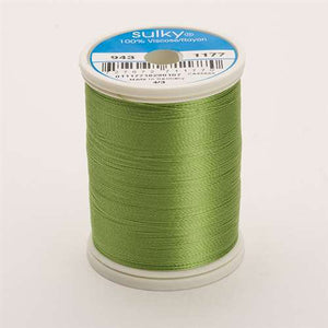 Sulky 40 wt 850 Yard Rayon Thread - 943-1177 - 40wt Avocado