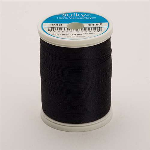 Sulky 40 wt 850 Yard Rayon Thread - 943-1182 - Blue Black