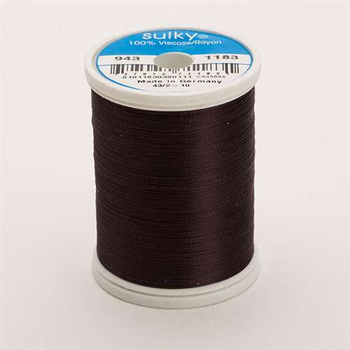 Sulky 40 wt 850 Yard Rayon Thread - 943-1183 - Black Cherry